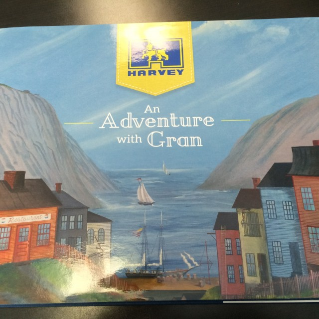 "A. Harvey ""An Adventure with Gran"""