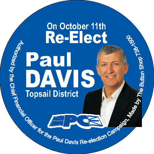 Paul Davis Button