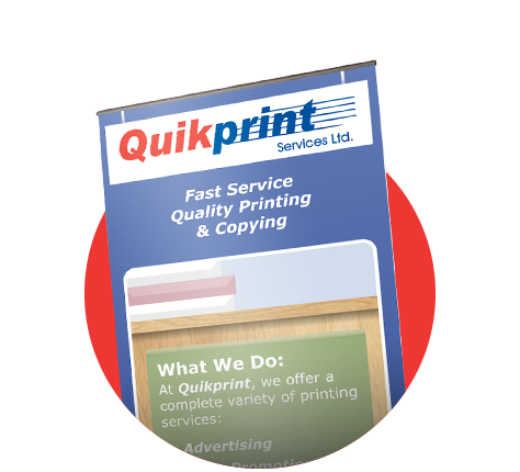 Quality Printing Service & Pricing | Quikprint Services Ltd